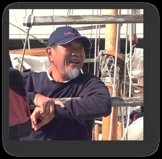 帆船Ami船長 溜光男