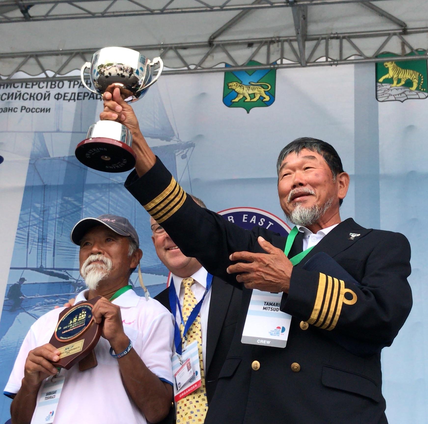 2018年夏、国際帆船レースで受賞!
