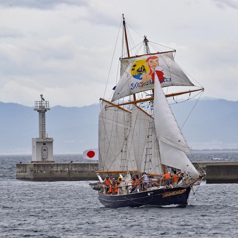 2019年夏航海「つなでつなぐ なつ2019 ~ 帆船・人・港~」参加