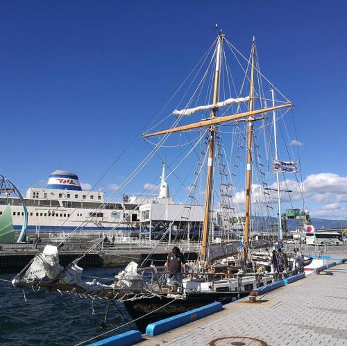 9月17日 函館港着岸