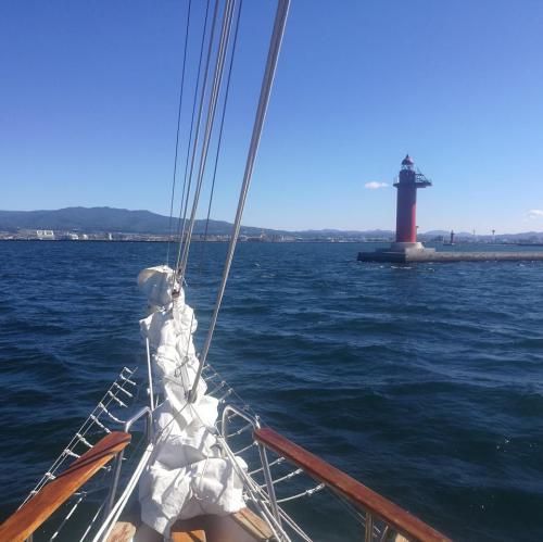9月17日 函館航海中灯台